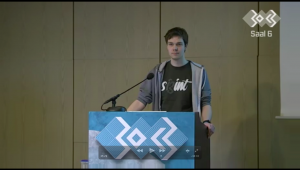 Screenshot vom 30C3